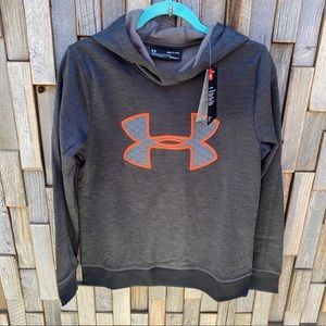 Under Armour hoodie sweatshirt small neon detail